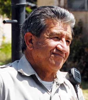 Socorro County deputy sheriff Shorty Vaiza retired Dec 2012.